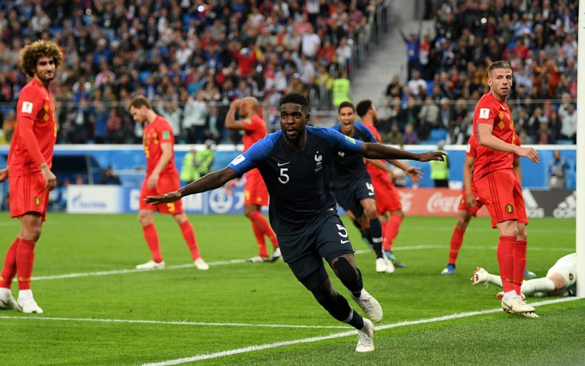 Umtiti y Dembélé, clasificados para la final del Mundial