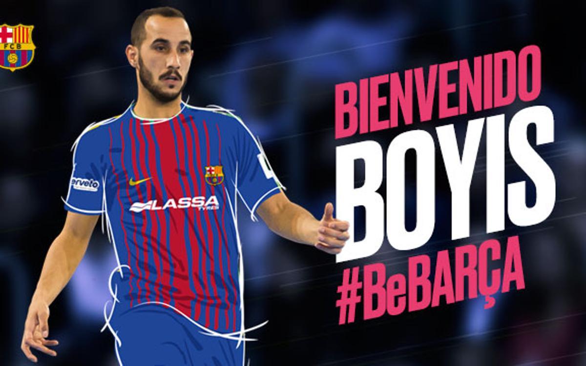 Boyis se incorpora al Barça Lassa