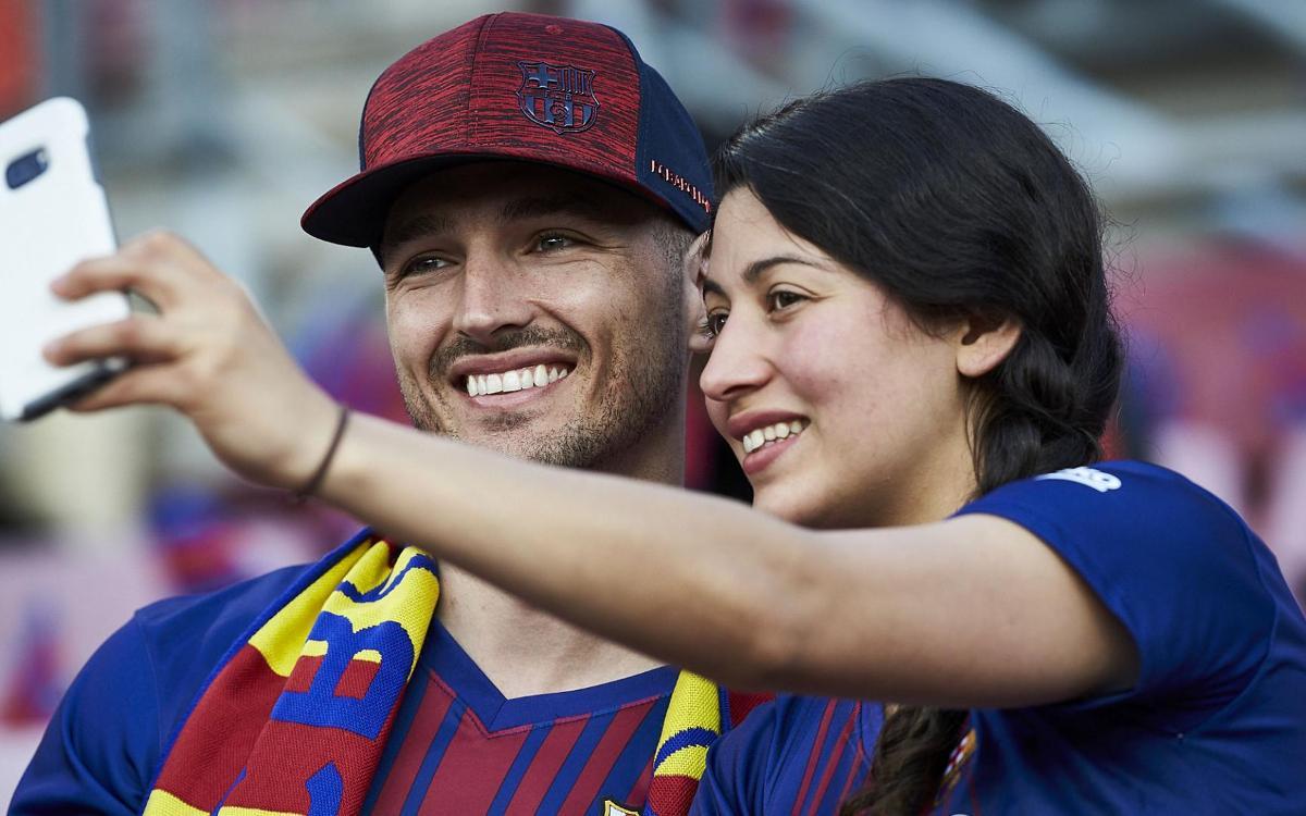 La red wifi del Camp Nou acumula más de 1,7 millones de usuarios