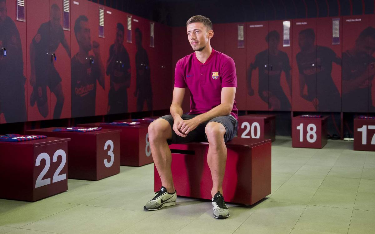Lenglet: 'Barça have a unique style'