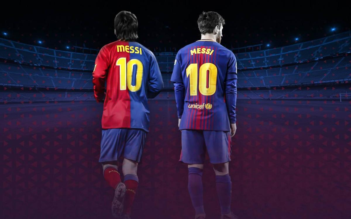 Dix ans depuis les débuts du '10' de Messi