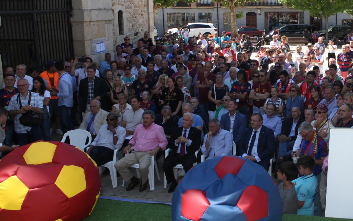 La Peña Barcelonista Boñar organiza un homenaje a Enrique Castro
