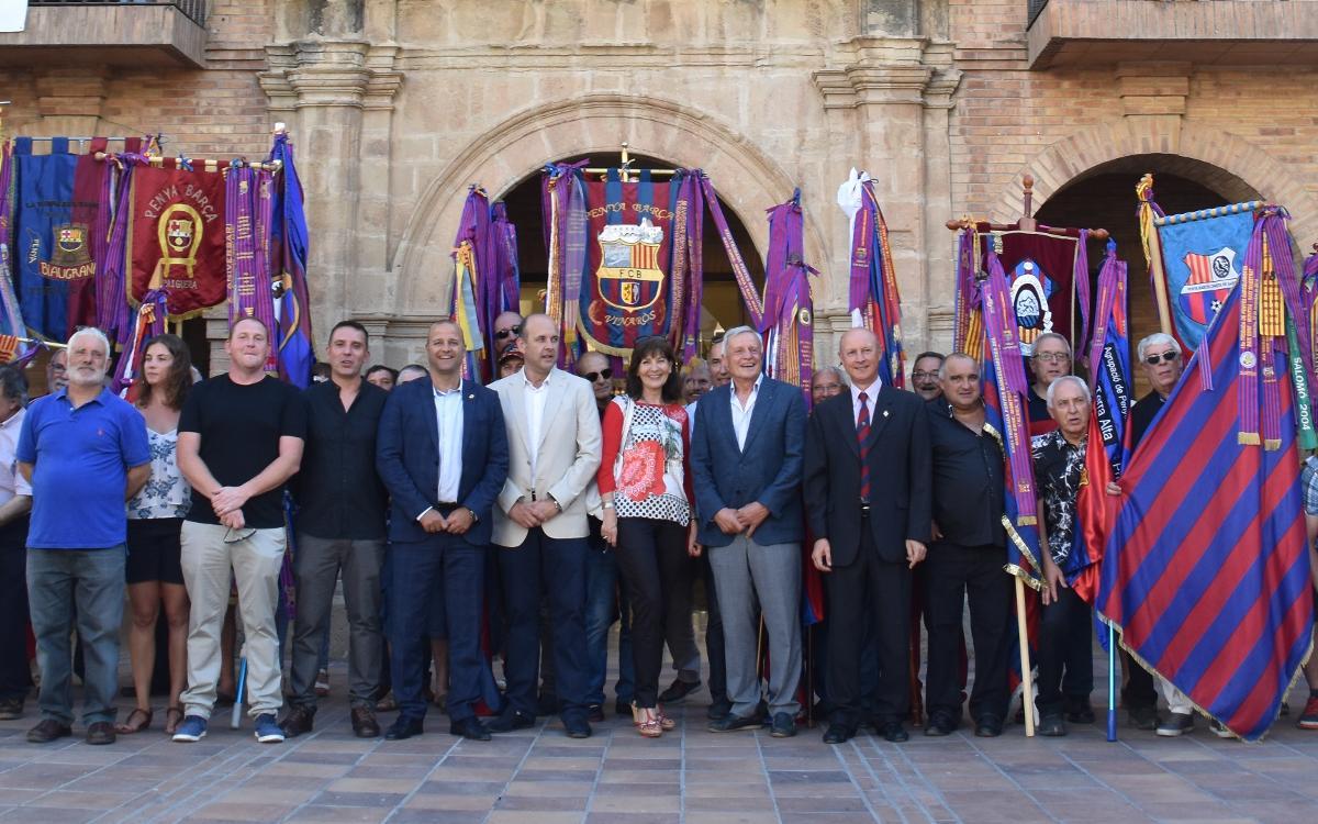La Penya Barcelonista de Gandesa celebra el seu 25è aniversari