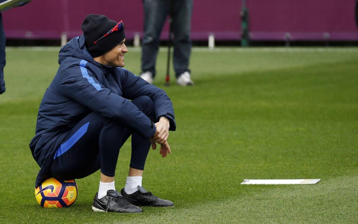 Luis Enrique: The derby is a different game