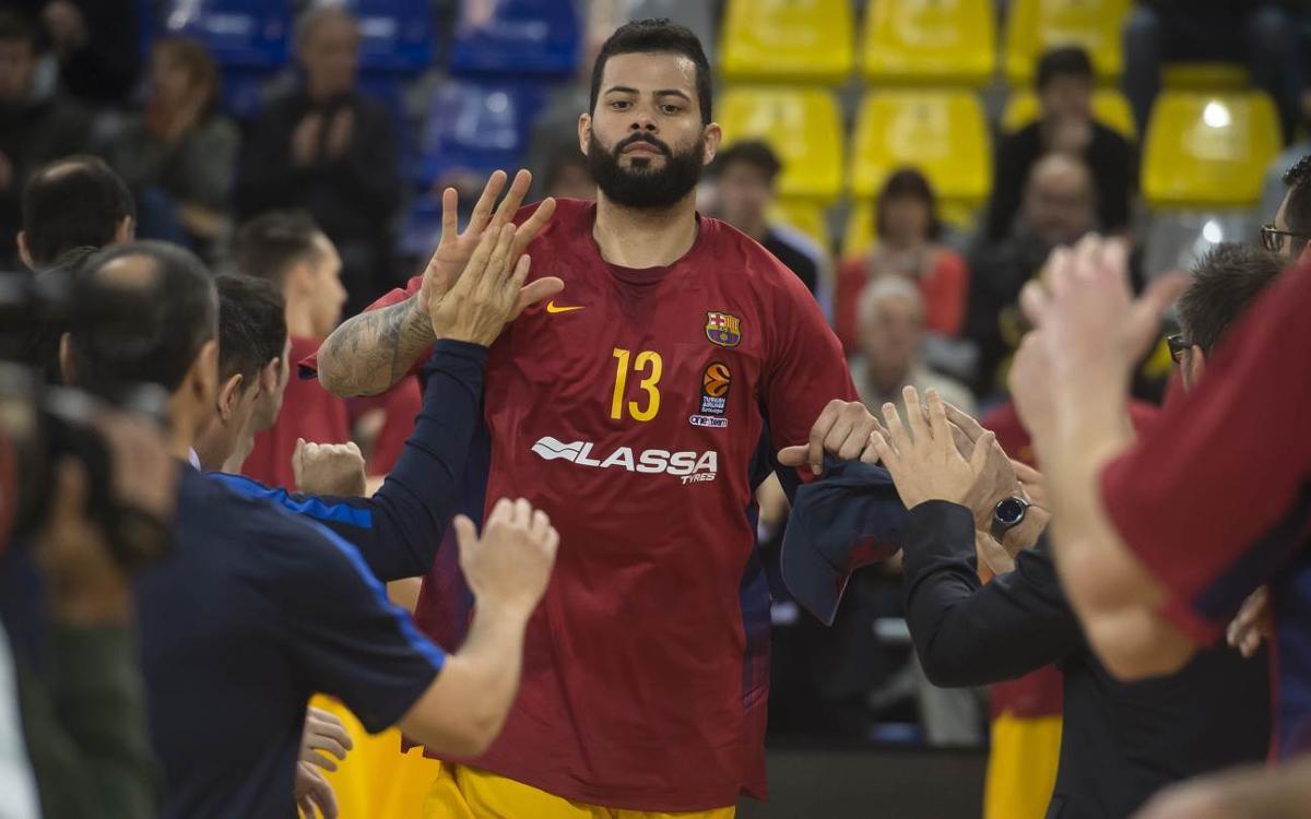 Ribas, Claver i Doellman expliquen com és Faverani, el nou pivot del Barça Lassa