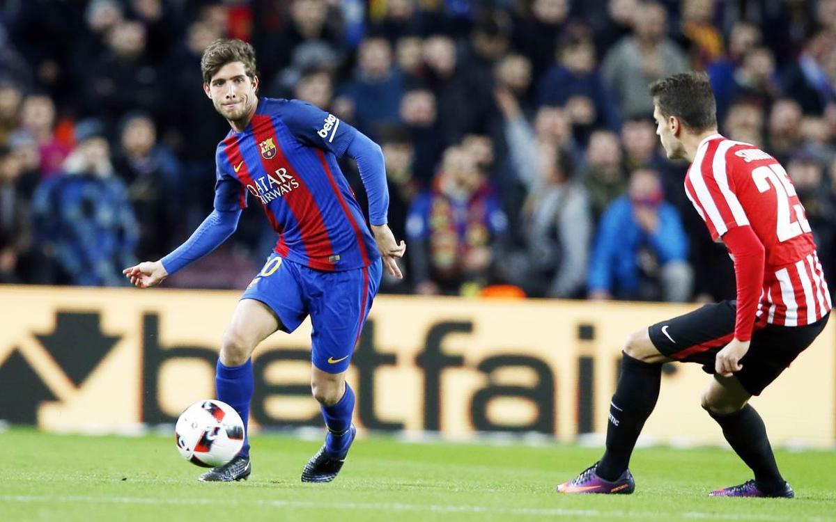 """Sergi Roberto: """"L'equip ha sabut tornar a la millor versió"""""""