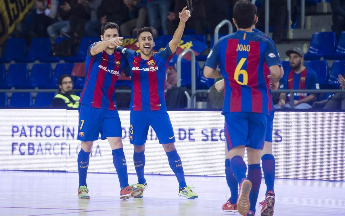 FC Barcelona Lassa – Jaén Paraíso Interior: ¡Goleada y campeones de invierno (5-0)!