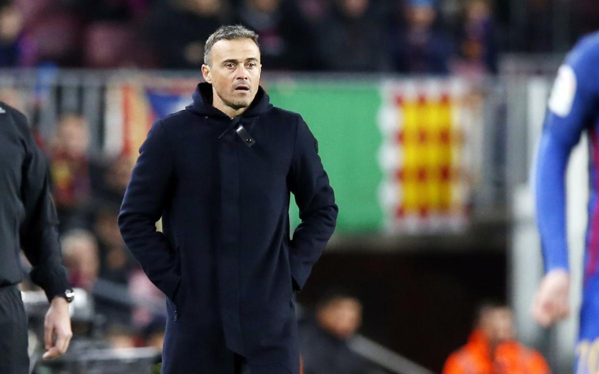 Luis Enrique: We performed at a very high level