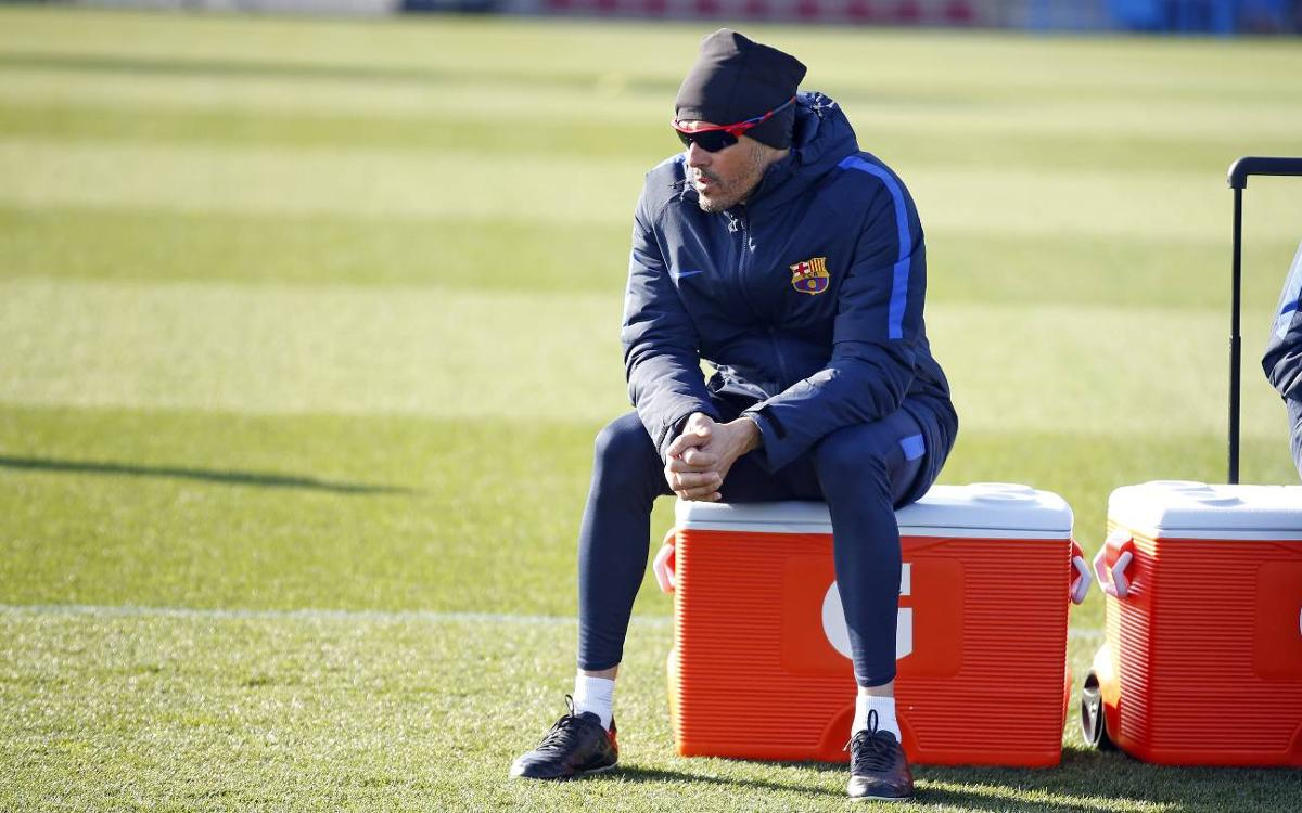 Luis Enrique: Both teams will want to keep possession