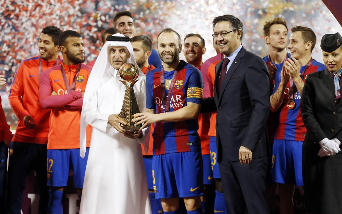 Al Ahli- FC Barcelona: Goleada festiva en Qatar (3-5)