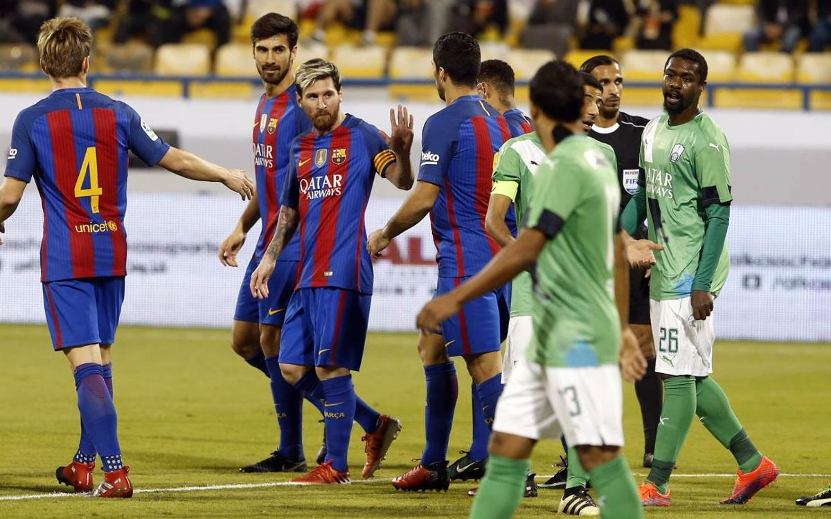 Al-Ahli v FC Barcelona: Goals galore in Qatar (3-5)