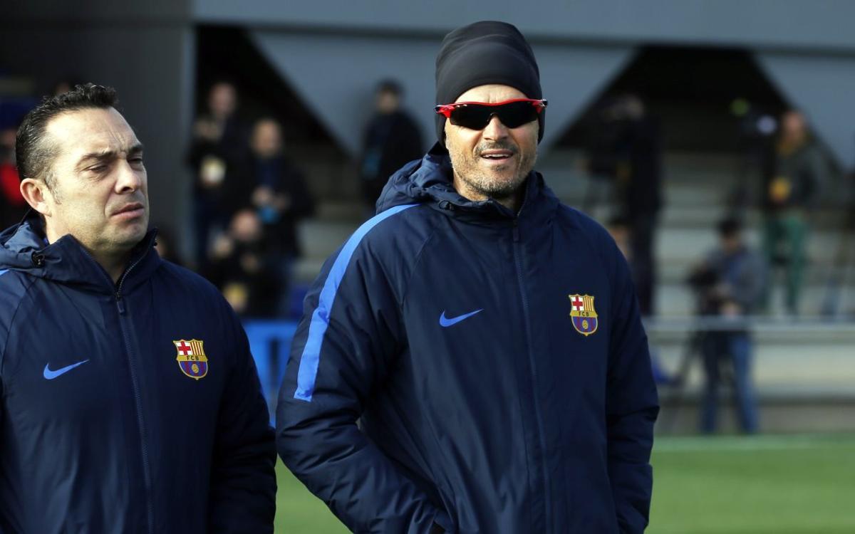 """Luis Enrique: """"Espero al Athletic Club de las grandes citas"""""""