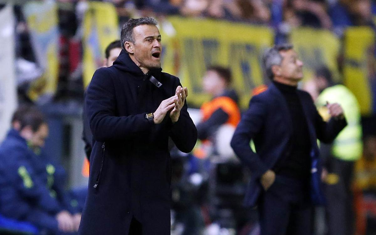 Luis Enrique: The team deserved to win