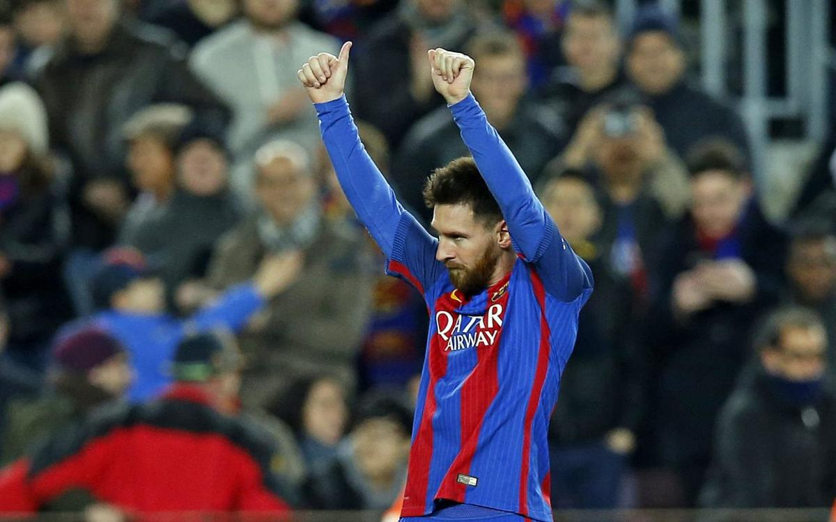 Video: FC Barcelona's Leo Messi wows the world in Sunday's derby