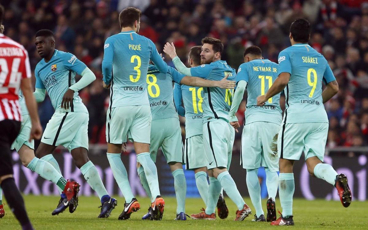 Messi, primer goleador azulgrana por segundo año consecutivo