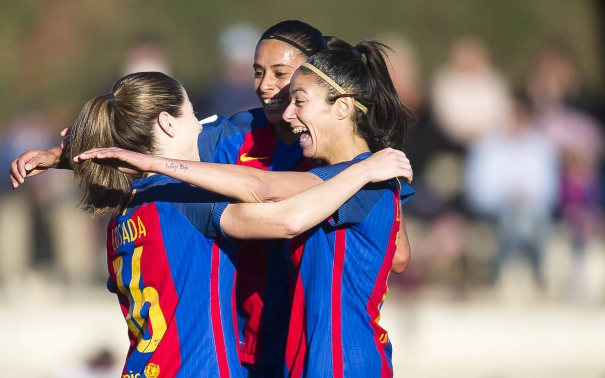 Santa Teresa CD - FC Barcelona Femenino (previa): Que no se pare