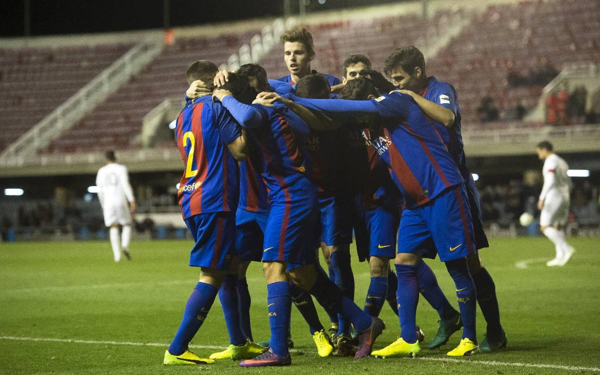 FC Barcelona B v Hércules: Prestigious win to kick off the year at home (2-0)