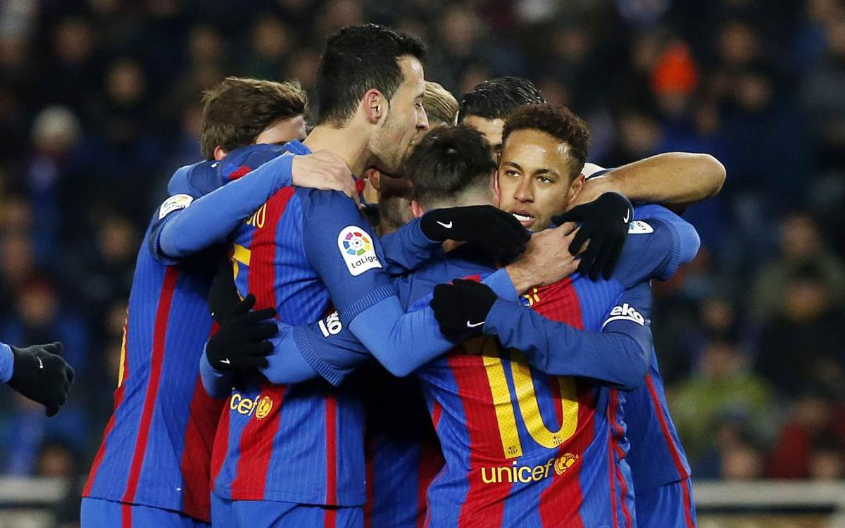 Copa del Rey win at Real Sociedad, by the numbers