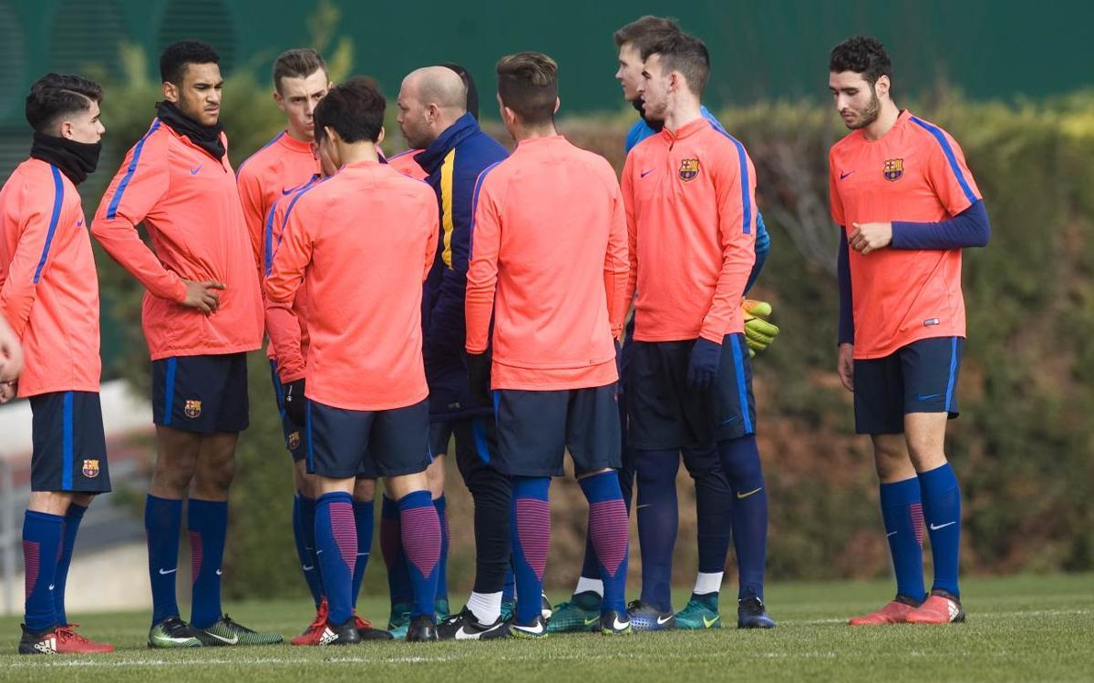 """Gabri sobre el derbi contra l'Espanyol: """"Serà molt complicat i té molts al·licients"""""""