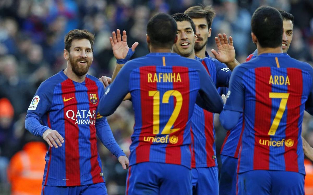 FC Barcelona - Las Palmas: Goleada completa y redonda (5-0)
