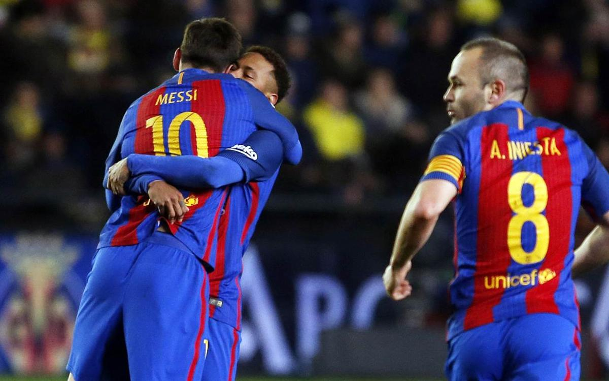 Villarreal v FC Barcelona: Messi rescues point (1-1)