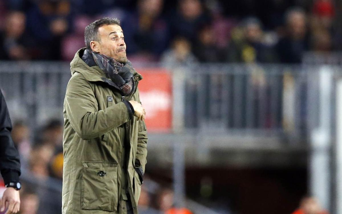 Luis Enrique: It's a match that gives many players a boost