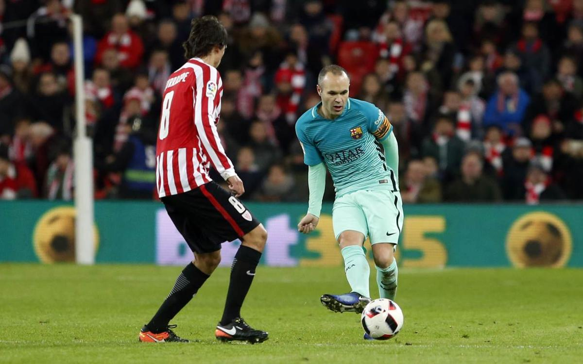 Andrés Iniesta: We were always in the game
