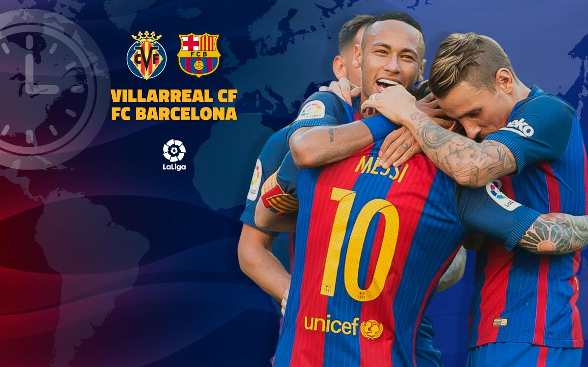 When and where to watch Villarreal v FC Barcelona