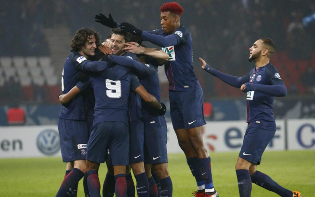PSG - Bastia: Goleada en la Copa de Francia del próximo rival del Barça en la Champions (7-0)
