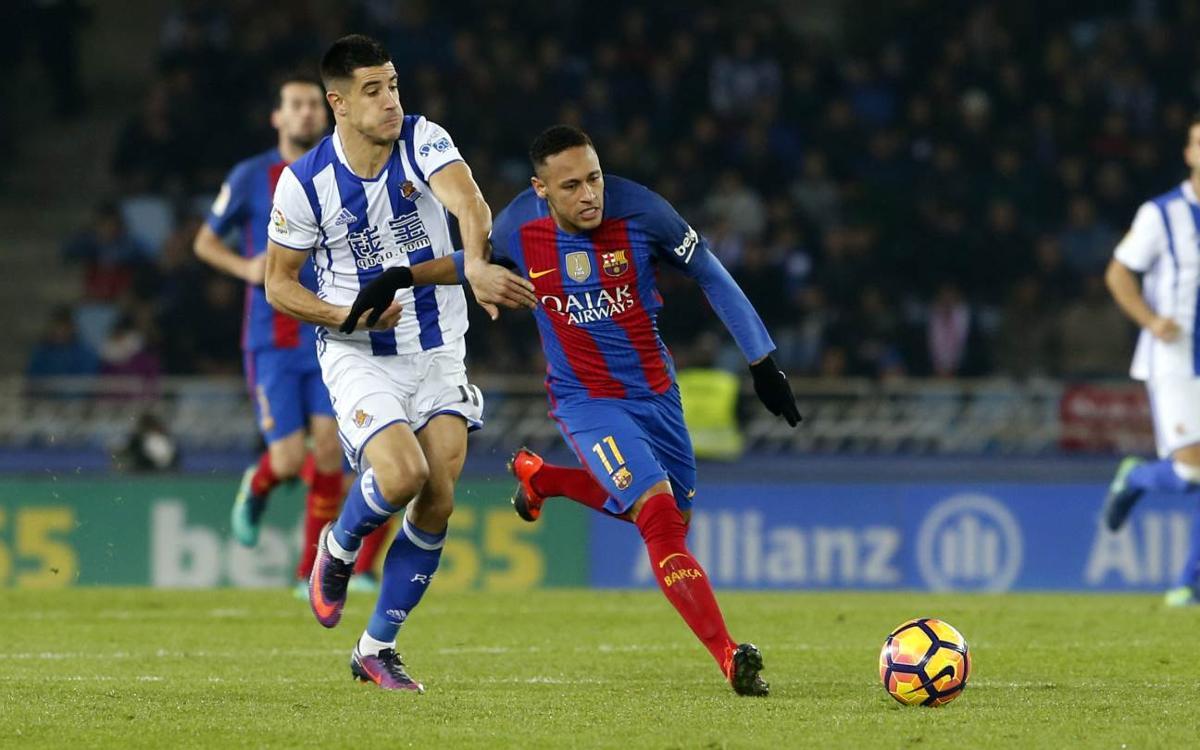 La Real Sociedad, rival en los cuartos de Copa