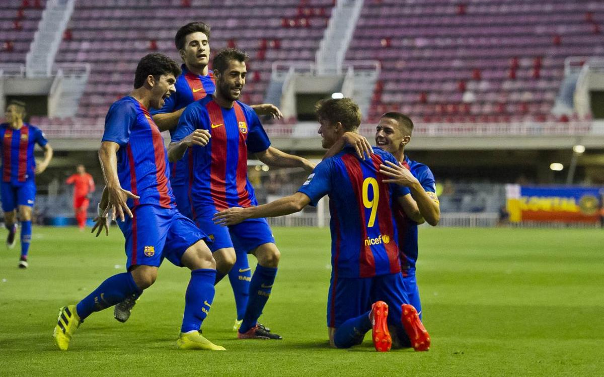 DIRECTE - Barça B - Alcoià