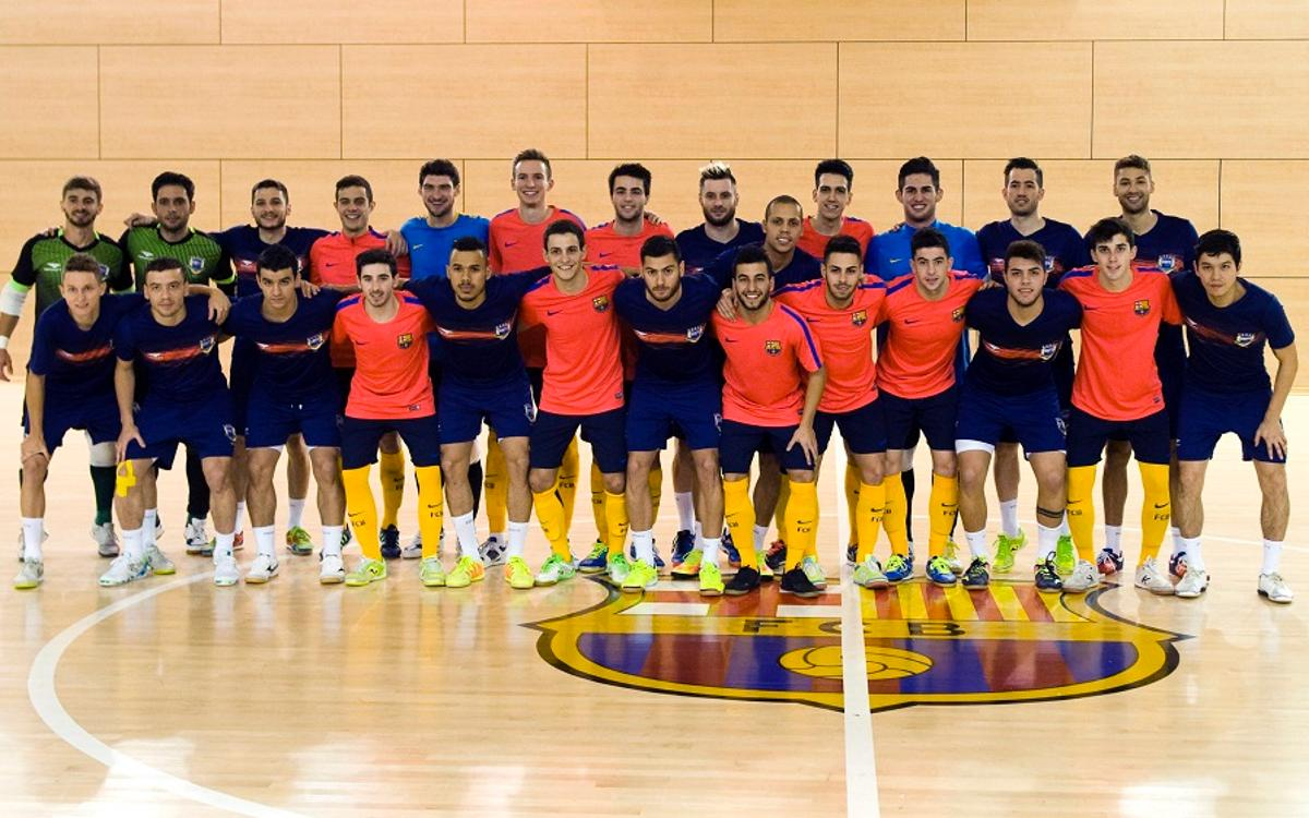 Partit d'entrenament del filial amb el Brasil