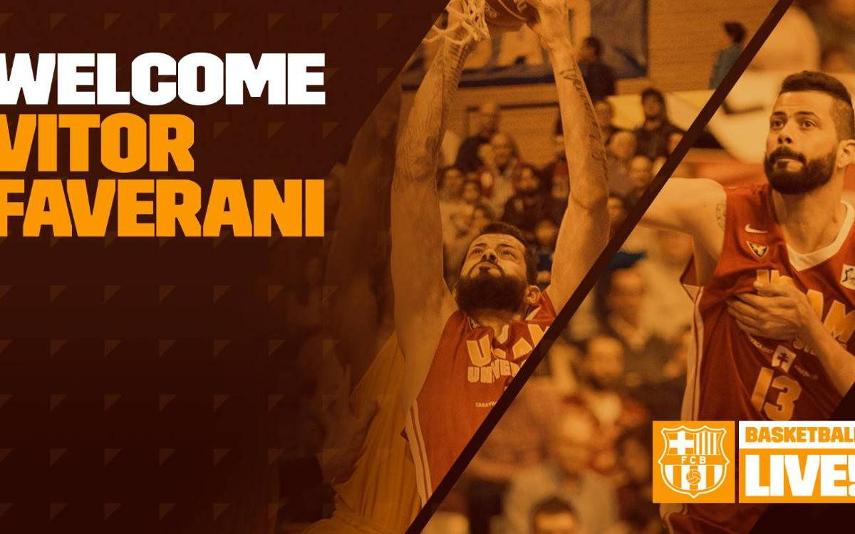 Vitor Faverani signs with Barça Lassa