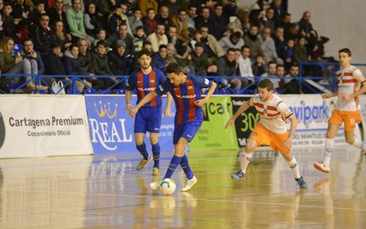Cartagena v FC Barcelona Lassa: Imposing win on tough court (1-3)