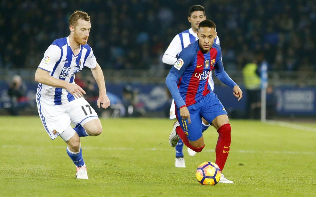 Tout savoir sur la Real Sociedad, adversaire du FC Barcelone en quarts de finale