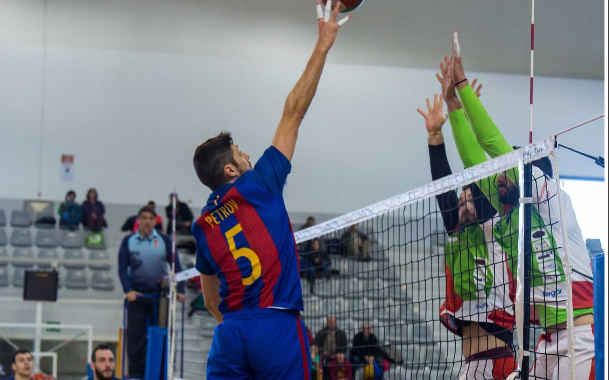 El voleibol masculino continúa ganando (3-0)