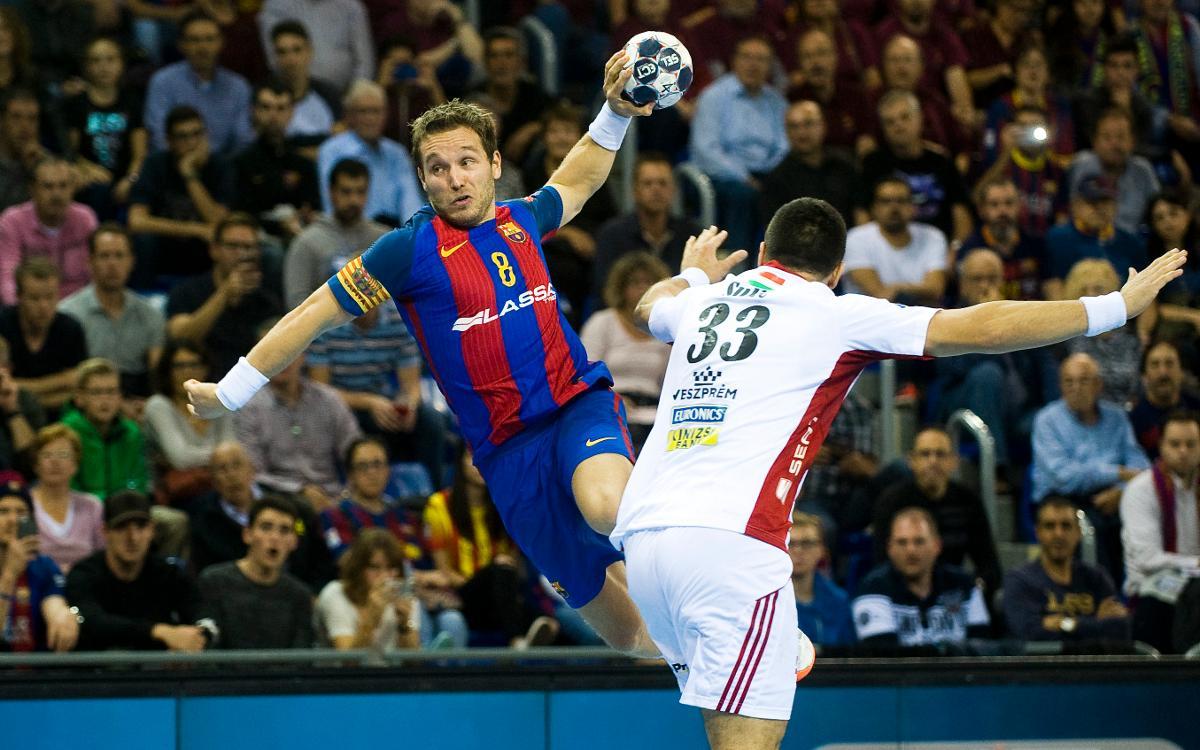 Ven a Veszprém con el Barça de balonmano