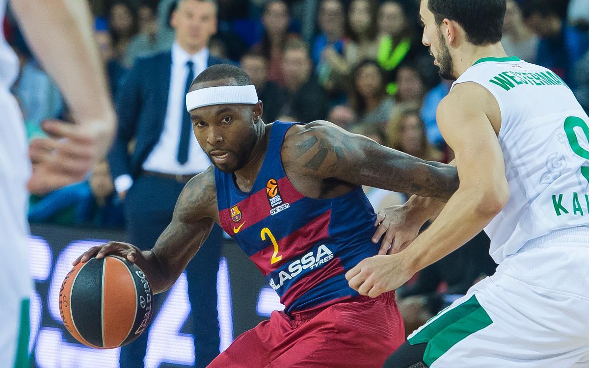 FC Barcelona Lassa – Zalgiris Kaunas: Creença en el triomf fins al final (92-86)