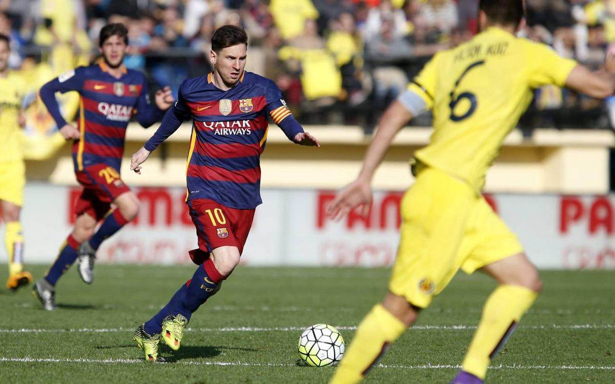 FC Barcelona unbeaten in nine years at Villarreal