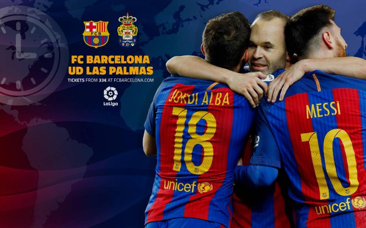 Cuándo y dónde se puede ver el FC Barcelona - Las Palmas