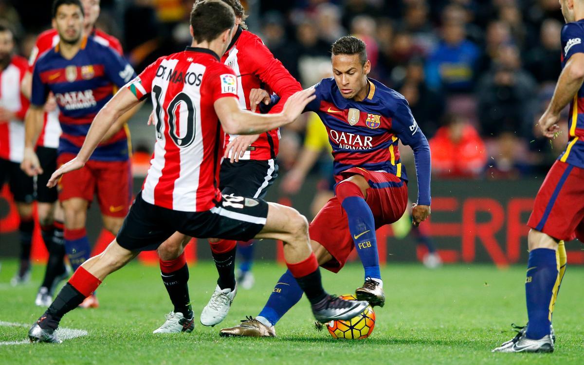 Ja es coneix l'horari del Barça-Athletic Club de Lliga