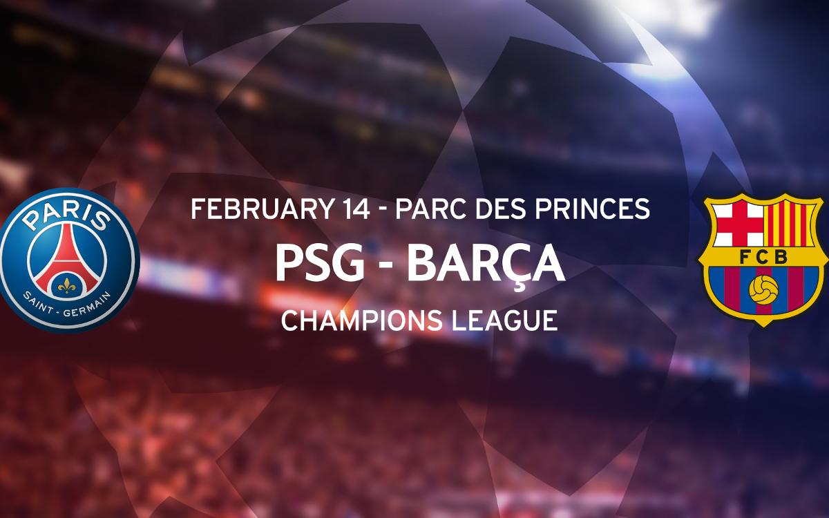 Application for tickets for the match against PSG in Paris