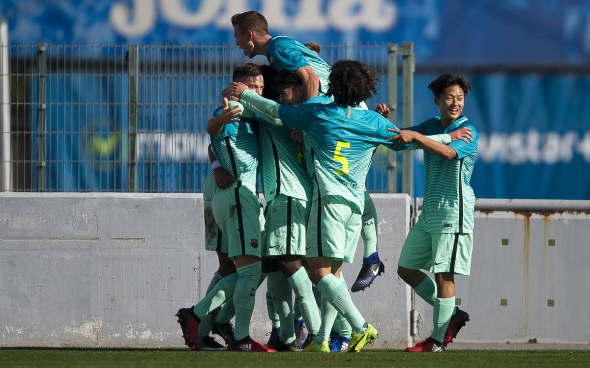 RCD Espanyol – Juvenil A: Victòria contra el segon per acariciar el títol (0-1)