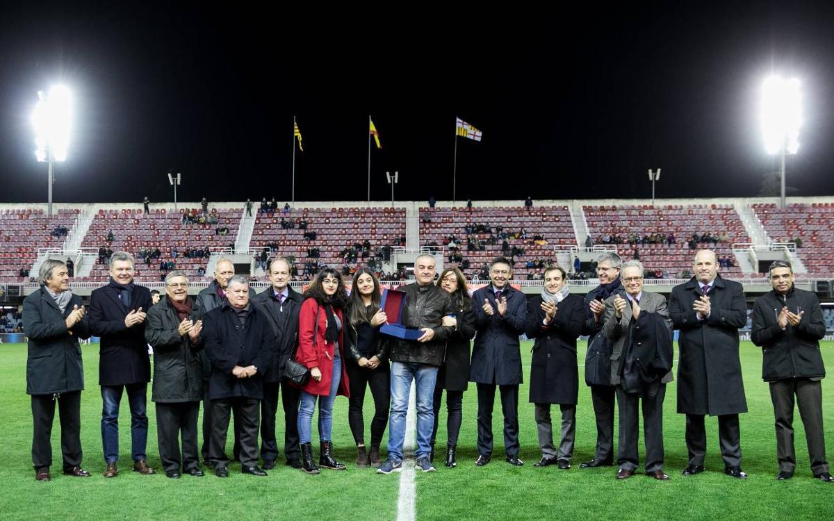Toni Alonso, 25 años siendo delegado del Barça B
