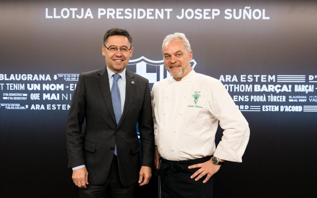 Xavier Pellicer porta l'essència del seu restaurant 'Céleri' a la Llotja del Camp Nou
