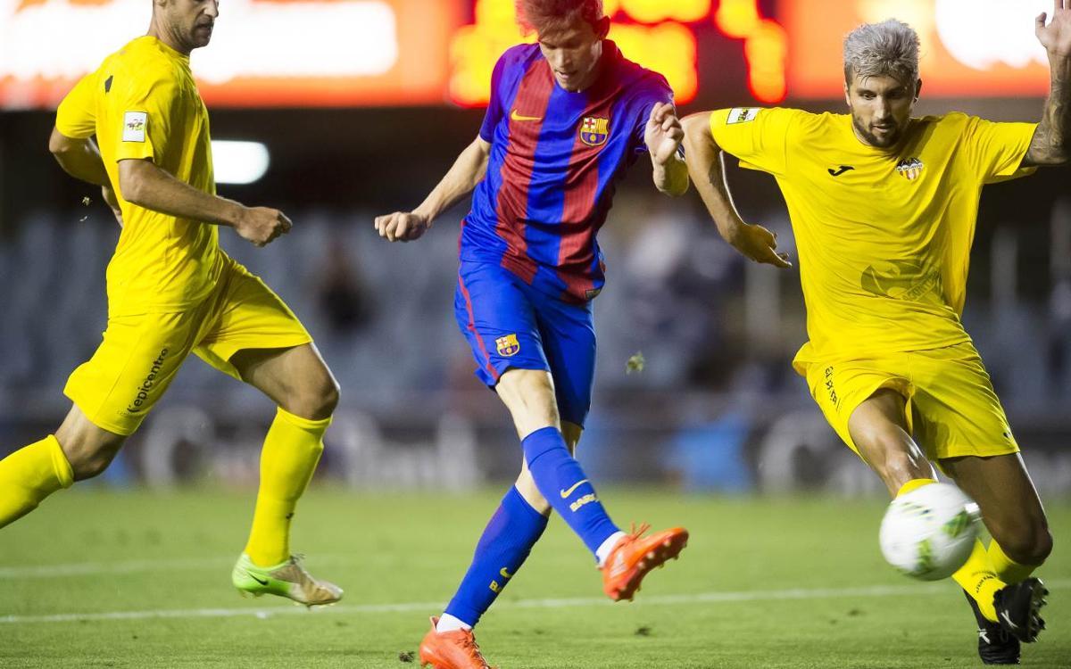 El Atlético Saguntino, de menos a más y 9 partidos invicto en casa