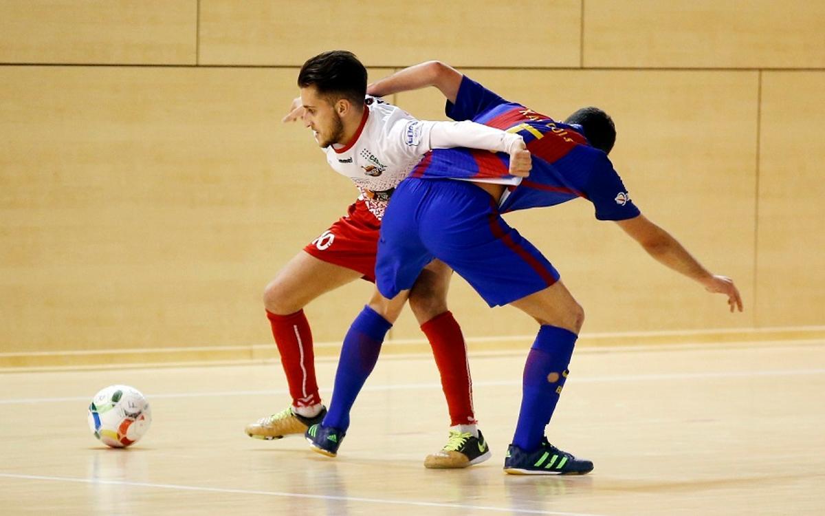 El filial manté el liderat amb un empat contra Naturpellet Segovia (1-1)