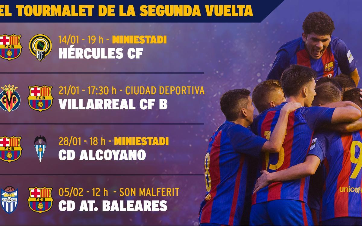 El Tourmalet de la segunda vuelta del Barça B