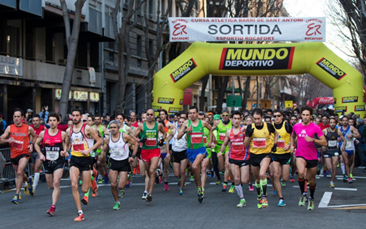 Primera prueba del año en la Cursa de Sant Antoni