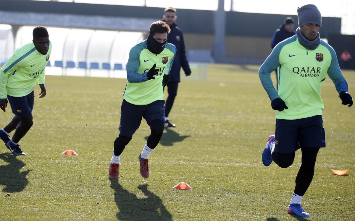 Le FC Barcelone peaufine sa préparation pour aller défier la Real Sociedad